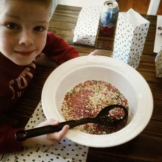 Oatmeal, Sprinkles & Glitter