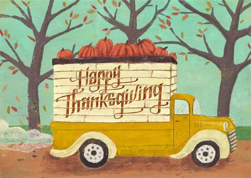 Thanksgiving Truck