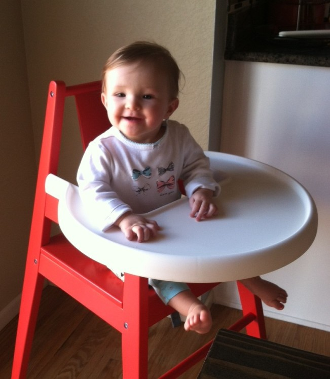 Bell in High Chair