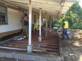 Floor Joists & Plumbing
