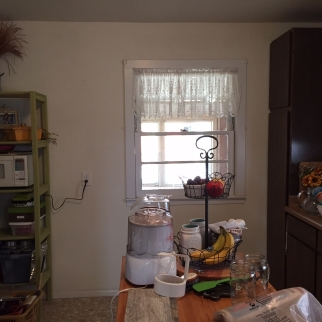 Kitchen Wall Before